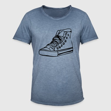 basketbal - Mannen Vintage T-shirt