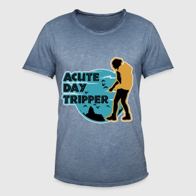 Acute day tripper - T-shirt vintage Homme