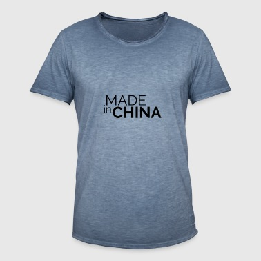 Made In China - T-shirt vintage Homme