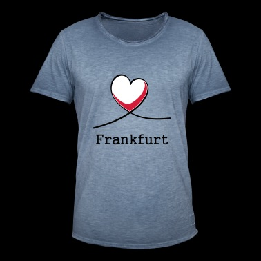 I love Frankfurt! - Men's Vintage T-Shirt