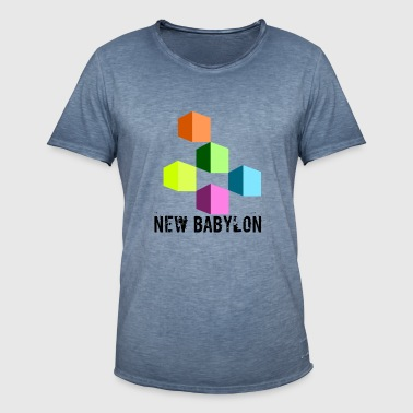 New Babylon - Men's Vintage T-Shirt