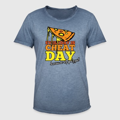 EVERYDAY IS CHEAT DAY - Men's Vintage T-Shirt