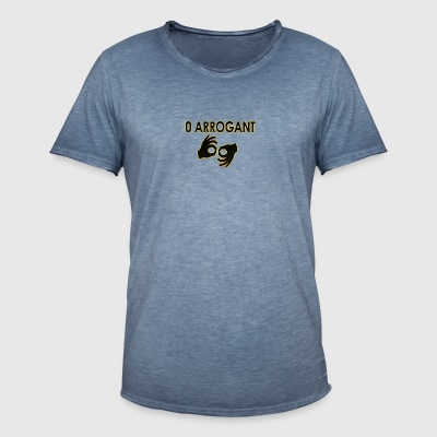 Zero Arrogant 1 - Men's Vintage T-Shirt