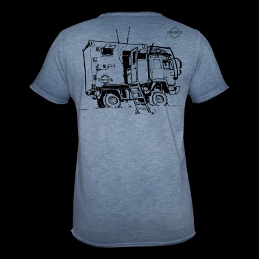 Expedition Truck | Terratrotter® - Men's Vintage T-Shirt