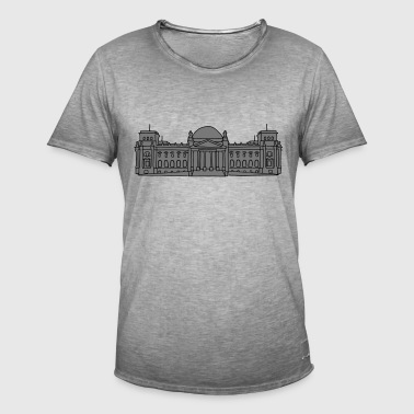 Reichstag building Berlin 2 - Men's Vintage T-Shirt