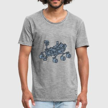Mars Curiosity, the Marsrover 2 - Men's Vintage T-Shirt