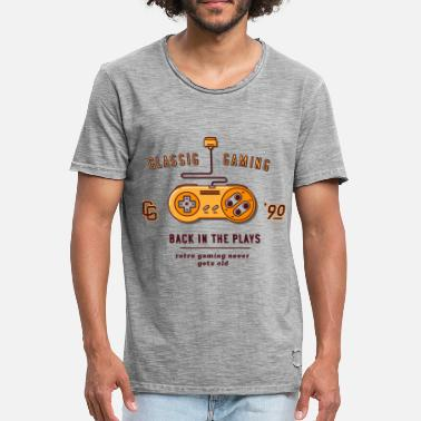 Gaming Collection classic gaming - Vintage-T-shirt herr