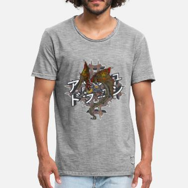 Asher Ash Dragon - Vintage-T-shirt herr