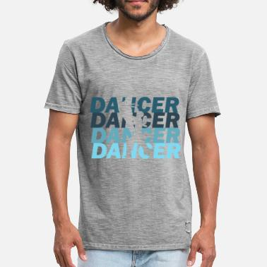 Danseur Danseur Danseur Danseur - T-shirt vintage Homme