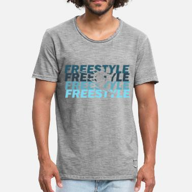 Freestyle Freestyle - Vintage T-skjorte for menn