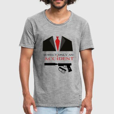 Hitman Agent 47 - Surely only an Accident - Männer Vintage T-Shirt