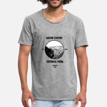 Grand National Grand Canyon National Park USA - Men's Vintage T-Shirt