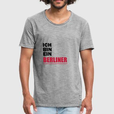 I am a Berliner - Men's Vintage T-Shirt