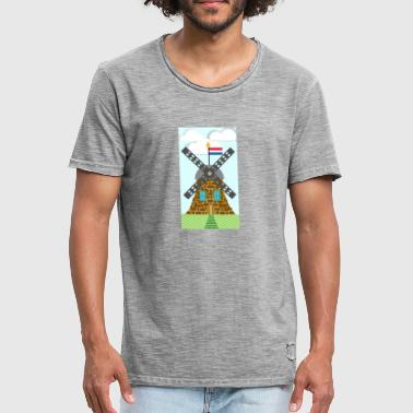 Mill - Men's Vintage T-Shirt