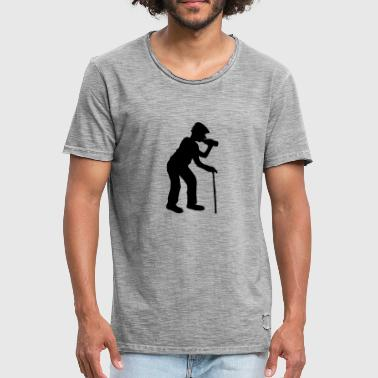 drinking alcohol beer drinking thirst bottle octo - Men's Vintage T-Shirt