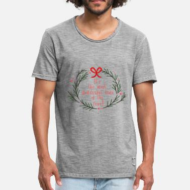 Wonderful The most wonderful time of the year - Männer Vintage T-Shirt
