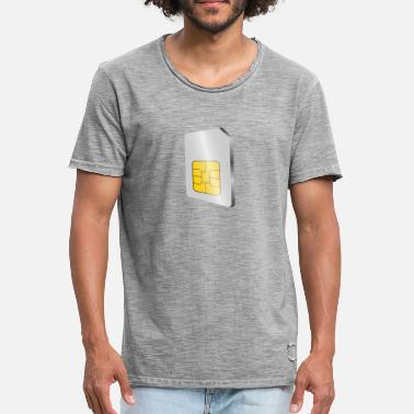 Sims SIM card - Men's Vintage T-Shirt