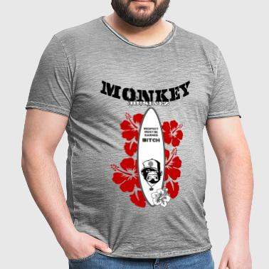Monkey Businez Surfer 2 - Männer Vintage T-Shirt