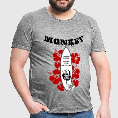 Monkey Businez Surfer 1 - Männer Vintage T-Shirt