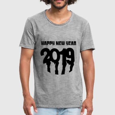 Bonne Année Bonne année bonne année - T-shirt vintage Homme