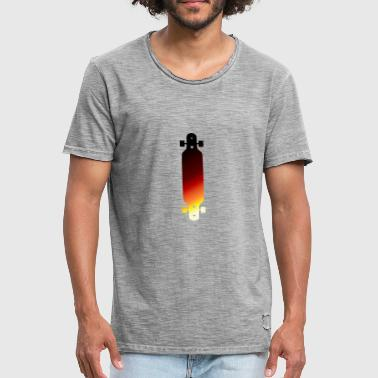 Sundown Longboard - Men's Vintage T-Shirt