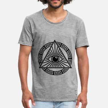 All Seeing Eye ALL SEEING EYE - Men's Vintage T-Shirt