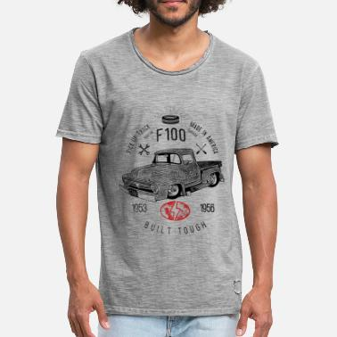 Hot Rod F100 Built Tough, Vintage - Mannen Vintage T-shirt