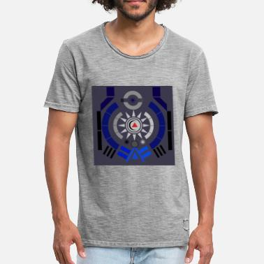 Illustrator illustration - Men's Vintage T-Shirt