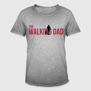 The Walking Dad - Father and Son - Männer Vintage T-Shirt