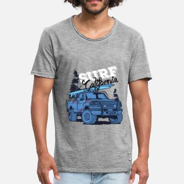 California Surfing surf california - Men's Vintage T-Shirt