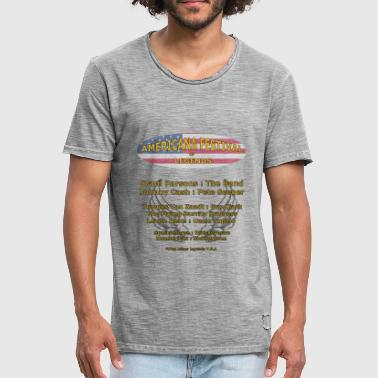 Americana Music - Festival of Legends - Mannen Vintage T-shirt
