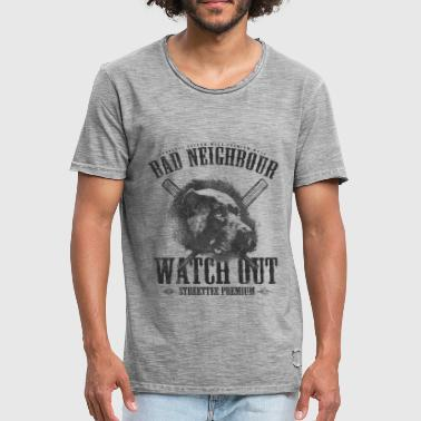dålig Neighbour - Vintage-T-shirt herr