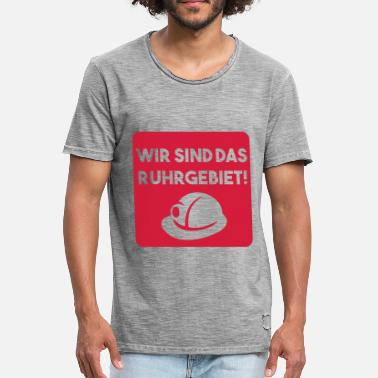 Ruhr Area WE ARE THE RUHR AREA (v) - Men's Vintage T-Shirt