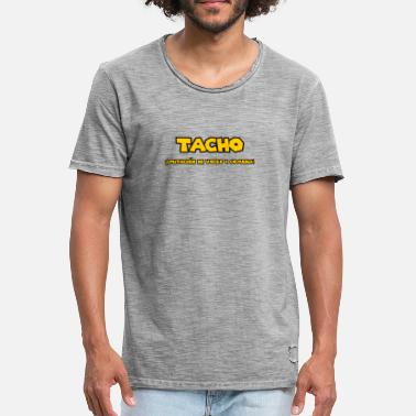 León Tacho León - Imitation of voices and comedy - Men's Vintage T-Shirt