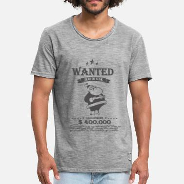 Wanted WANTED ;) - T-shirt vintage Homme