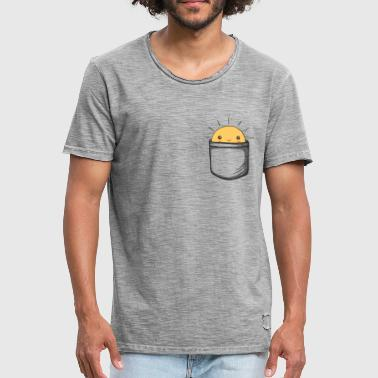 Sunshine in my pocket!, Sonne, Sommer, Happy,  - Männer Vintage T-Shirt