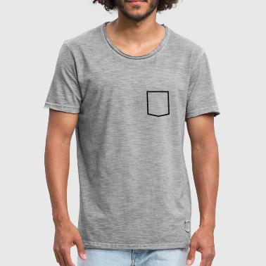 Pocket - Men's Vintage T-Shirt