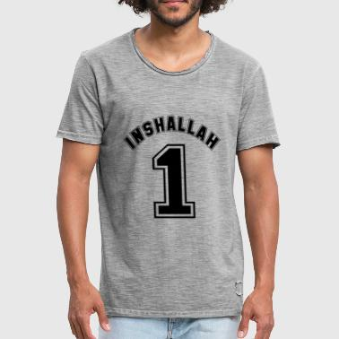 Inshallah - T-shirt vintage Homme