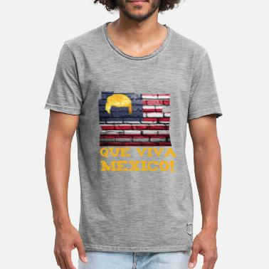 Cynical Que viva mexico! - Men's Vintage T-Shirt
