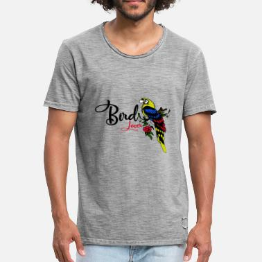 Bird Lovers bird lovers - Men's Vintage T-Shirt