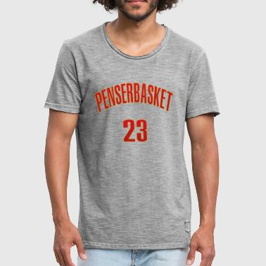 Number 23 NUMBER 23 LBJ Tee - Men's Vintage T-Shirt