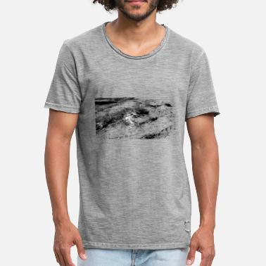 North Rough coast - Men's Vintage T-Shirt