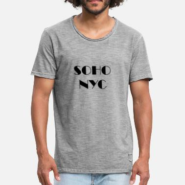 Soho SOHO NYC - SOHO New York City - Men's Vintage T-Shirt