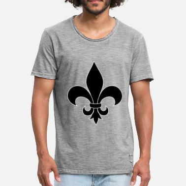 Lilja French lily - Men's Vintage T-Shirt