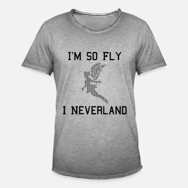 So Fly Funny Drôle Cool énonciations Fée - T-shirt vintage Homme