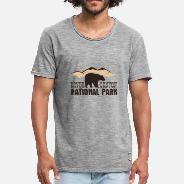 Nationaal Park Bryce Canyon National Park - Mannen Vintage T-shirt