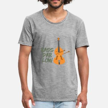 Double Bass double bass - Men's Vintage T-Shirt