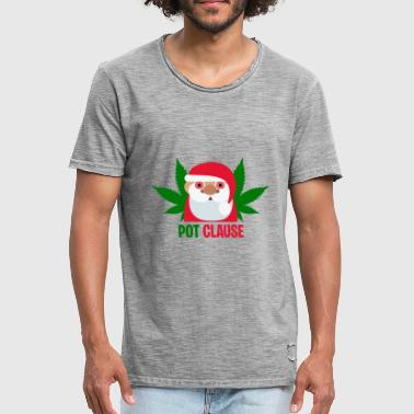 Clause Pot Clause - Men's Vintage T-Shirt