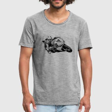 Motorcycle - T-shirt vintage Homme