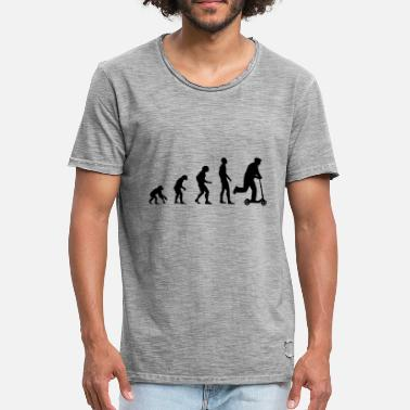 Roller Evolution City Roller Evolution - Männer Vintage T-Shirt